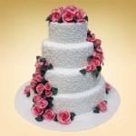 свадебные торты из мастики