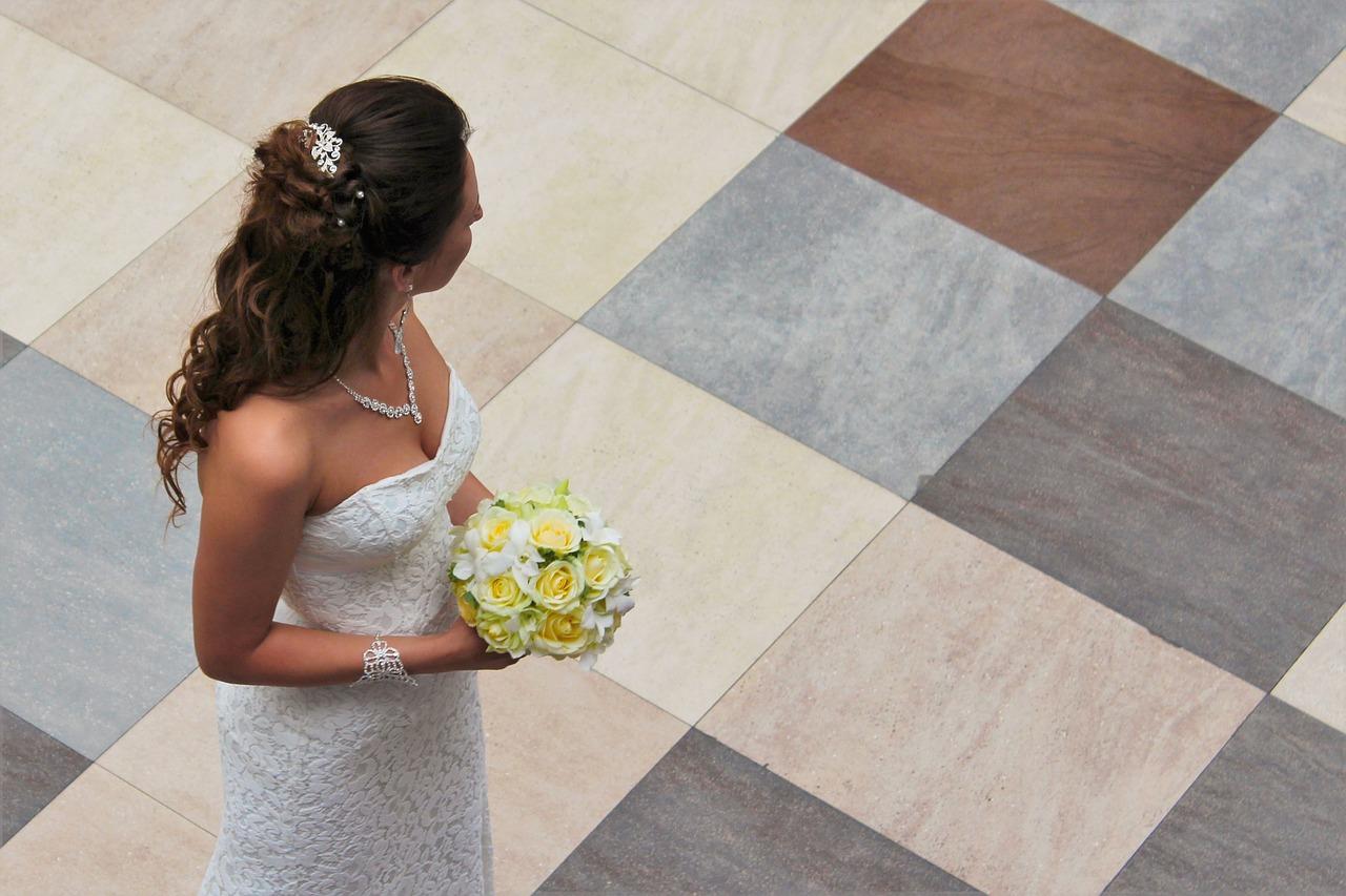 свадебное платье впол