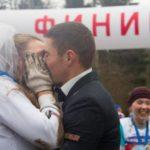 Жених и невеста пробежали марафон в Одинцово