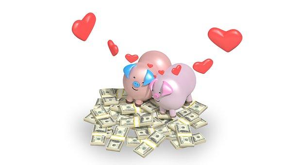 Дарим деньги на свадьбу