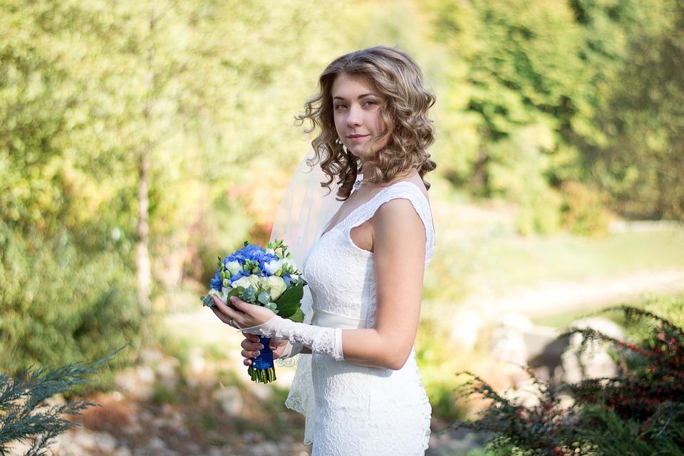 Прическа невесты на свадьбу