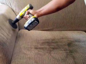 Оперативная химчистка мягкой мебели на дому