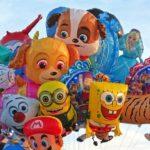 Фольгированные воздушные шары — Воздушный город