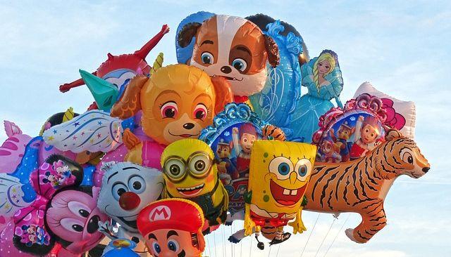 Фольгированные воздушные шары в Москве
