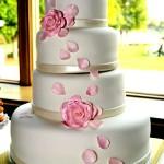 торт на свадьбу от кондитера